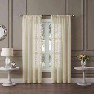 "One (1) Tiburon Sheer Pocket 108"" Window Curtain"